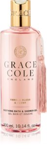Grace Cole Vanilla Blush & Peony Soothing Shower Gel