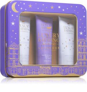 Grace Cole Luxury Bathing Lavender Sleep Therapy σετ δώρου (στα  χέρια και νύχια)