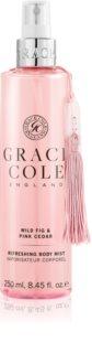 Grace Cole Wild Fig & Pink Cedar osvežilna meglica za telo