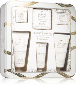 Grace Cole Luxury Bathing Bergamot Ginger & Lemongrass ajándékszett (testre)