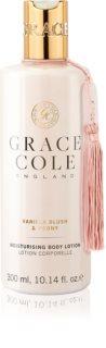 Grace Cole Vanilla Blush & Peony hydratační tělové mléko