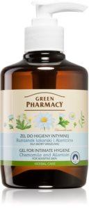 Green Pharmacy Body Care Chamomile & Allantoin gel de toilette intime pour peaux sensibles