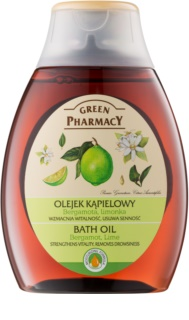 Green Pharmacy Body Care Bergamot & Lime huile de bain