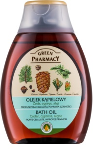 Green Pharmacy Body Care Cedar & Cypress & Algae huile de bain