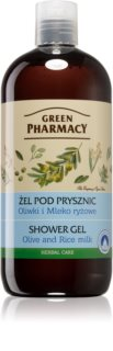 Green Pharmacy Body Care Olive & Rice Milk Suihkugeeli