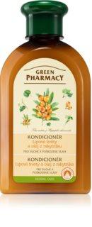 Green Pharmacy Herbal Care balsamo per capelli rovinati e secchi
