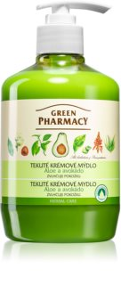 Green Pharmacy Hand Care Aloe Flydende sæbe