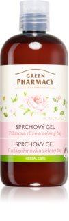 Green Pharmacy Body Care Rose & Green Tea delikatny żel pod prysznic