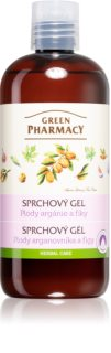 Green Pharmacy Body Care Argan Oil & Figs gel de duche hidratante