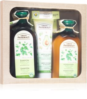 Green Pharmacy Herbal Care coffret (para cabelo normal)