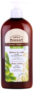 Green Pharmacy Body Care Aloe & Rice Milk Fugtende bodylotion med nærende effekt