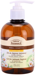Green Pharmacy Body Care Chamomile & Allantoin gel de toilette intime pour peaux sensibles