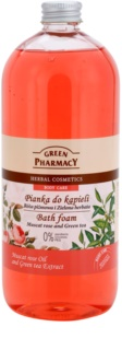 Green Pharmacy Body Care Muscat Rose & Green Tea pena do kúpeľa