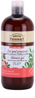 Green Pharmacy Body Care Muscat Rose & Green Tea gel de douche