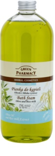 Green Pharmacy Body Care Olive & Rice Milk Badeskum