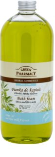Green Pharmacy Body Care Olive & Rice Milk piana do kąpieli