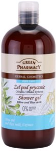 Green Pharmacy Body Care Olive & Rice Milk gel de dus