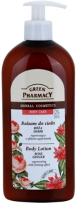 Green Pharmacy Body Care Rose & Ginger regenerierende Body lotion mit festigender Wirkung