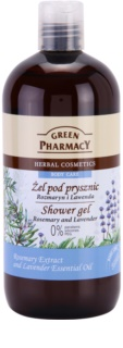 Green Pharmacy Body Care Rosemary & Lavender gel de douche