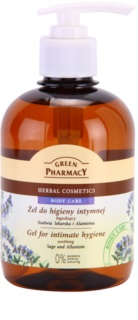 Green Pharmacy Body Care Sage & Allantoin Udglattende gel  til intimhygiejne