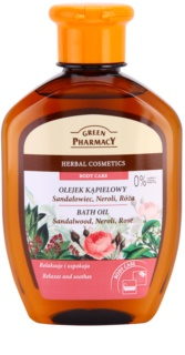 Green Pharmacy Body Care Sandalwood & Neroli & Rose huile de bain