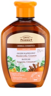 Green Pharmacy Body Care Tangerine & Cinnamon huile de bain