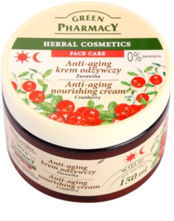 Green Pharmacy Face Care Cranberry crème nourrissante anti-âge