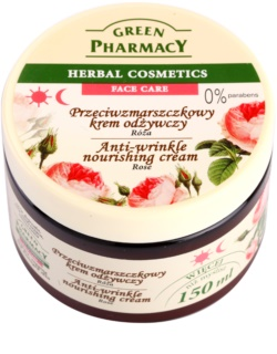 Green Pharmacy Face Care Rose crema nutritiva antiarrugas