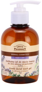 Green Pharmacy Face Care Sage gel detergente delicato per pelli con tendenza alle irritazioni