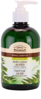 Green Pharmacy Hand Care Aloe sapone liquido