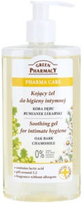 Green Pharmacy Pharma Care Oak Bark Chamomile gel calmante para la higiene íntima