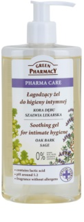 Green Pharmacy Pharma Care Oak Bark Sage gel apaisant pour la toilette intime