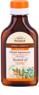 Green Pharmacy Hair Care Argan Oil olio di bardana per capelli effetto rigenerante