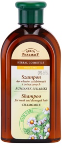 Green Pharmacy Hair Care Chamomile Shampoo voor Futloos en Beschadigd Haar