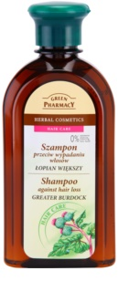 Green Pharmacy Hair Care Greater Burdock șampon impotriva caderii parului