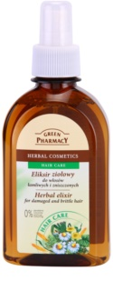 Green Pharmacy Hair Care elixir de hierbas para cabello dañado y debilitado