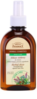 Green Pharmacy Hair Care elixir de hierbas anticaída para fortalecer el cabello
