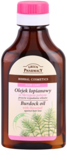 Green Pharmacy Hair Care Horsetail olio di bardana anti-caduta dei capelli