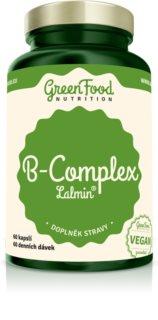 GreenFood Nutrition B-Komplex Lalmin® doplněk stravy pro podporu duševního a fyzického zdraví