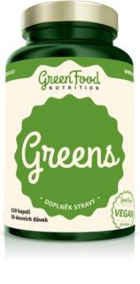 GreenFood Nutrition Greens doplněk stravy pro detoxikaci a podporu organismu
