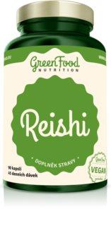 GreenFood Nutrition Reishi doplněk stravy pro podporu imunitního systému