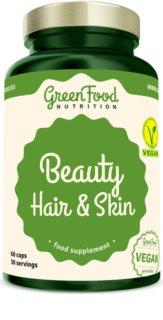 GreenFood Nutrition RegeMin Chelát doplněk stravy pro krásné vlasy, pleť a nehty