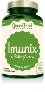 GreenFood Nutrition Imunix s Betaglukany doplněk stravy pro podporu imunitního systému