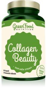 GreenFood Nutrition Collagen Beauty doplněk stravy pro krásné vlasy, pleť a nehty