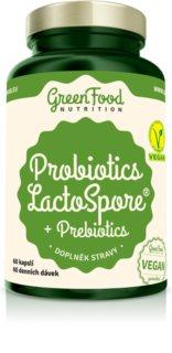 GreenFood Nutrition Probiotika LactoSpore® s prebiotiky doplněk stravy s prebiotiky