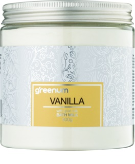 Greenum Vanilla  Bademilch in Pulverform