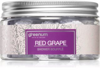 Greenum Red Grape soufflé pour le corps pour la douche