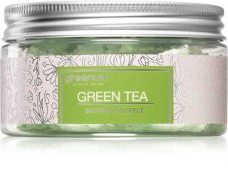 Greenum Green Tea soufflé pour le corps pour la douche