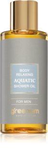 Greenum Aquatic pečující sprchový olej pro muže