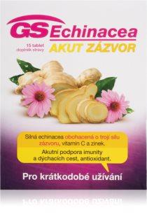 GS Echinacea Akut zázvor doplněk stravy pro podporu imunity v období zvýšené zátěže
